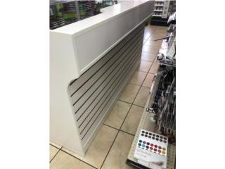 Wrapcounter/register Stand, WH. 72 x 22 x 42, Puerto Rico