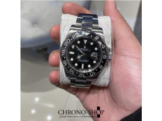 Rolex GMT Master II Black ( Descontinued) , Puerto Rico