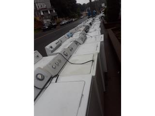 Lavadoras analogas importadas garantia, Puerto Rico