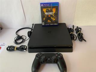 Playstation 4 slim 1TB, Puerto Rico