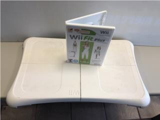Wii Fit PLUS + Pad , Puerto Rico