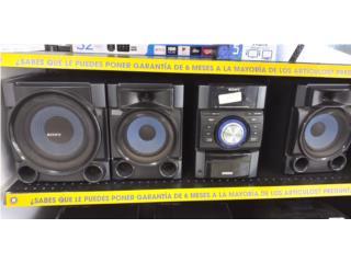Mini sistema sonido Sony, Puerto Rico