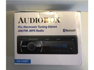 Car Radio Bluetooth/AM/FM/AUX/USB (NOCD), Puerto Rico