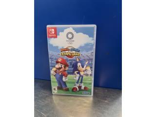 Mario & Sonics olimpics games 2020, Puerto Rico