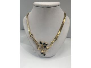 Necklace 18kt, Puerto Rico