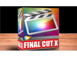 FINAL CUT X ((( EDITOR DE VIDEOS PARA MAC ))), Puerto Rico