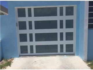 Puerta de Garage Full Glass 96