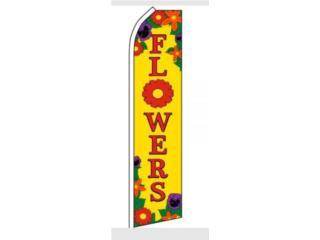Banner FLOWERS 2.5 x 11.5, Puerto Rico