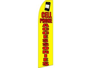 Banner CELL PHONE ACCESSORIES 2.5 x 11.5, Puerto Rico