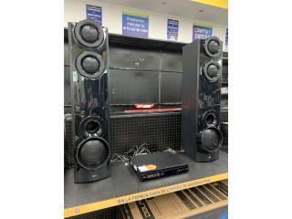 Sistema de sonido LG Bluray, Puerto Rico