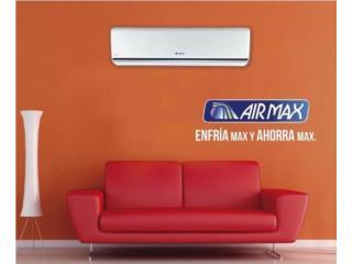 Airmax 12,000 Seer 20 con Wifi desde $580, Puerto Rico