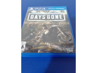 PS4 THE DAYS GONE GAME, Puerto Rico