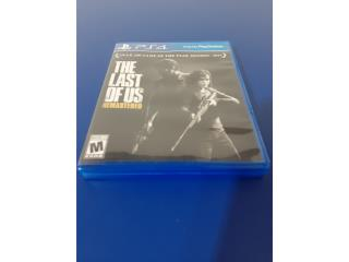 PS4 THE LAST OF US GAME, Puerto Rico