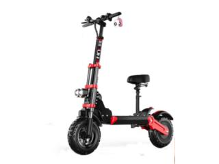 Scooter Elect 1000W 48V 18ah Lithium OFFROAD , Puerto Rico