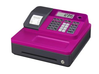Electronic Cash Register Condition: New Pink, Puerto Rico