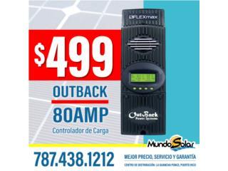 OutBack 80AMP Controlador de Carga, Puerto Rico