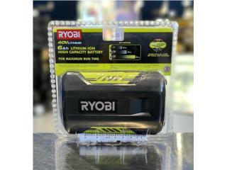 Bateria Ryobi 40v 6.0AH completamente nueva , Puerto Rico