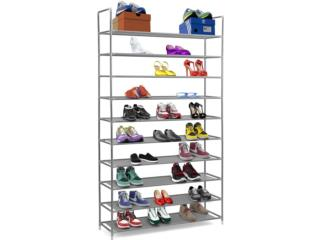 SHOE RACK 10-TIER,  25 PAIRS OF SHOES, Puerto Rico