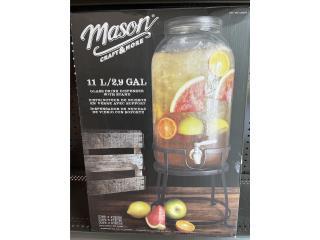 Glass drink dispenser , Puerto Rico