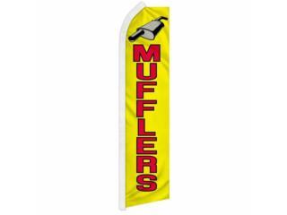 Banner MUFFLERS 11.5 x 2.5, Puerto Rico