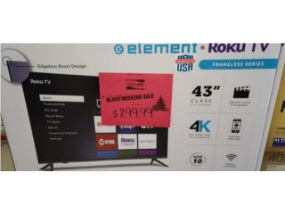 Element tv  43 in, Puerto Rico