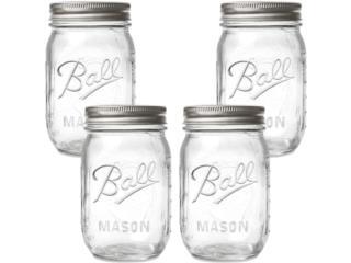 Mason Jars 16 oz, Puerto Rico