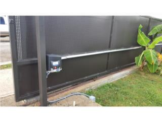 Portones electricos venta instalacion reparar, Puerto Rico