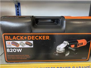 BLACK & DECKER GRINDER 12 PC, Puerto Rico