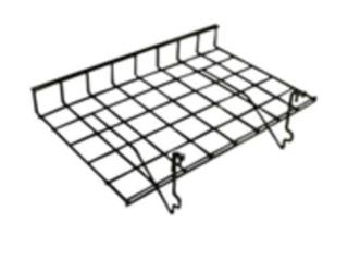24L x 15D Straight shelve with lip for grid/s, Puerto Rico