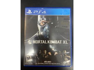 PS4 Game Mortal Kombat XL, Puerto Rico