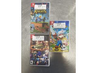 Nintendo SWITCH Variedad de juegos, Puerto Rico