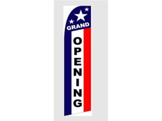 Banner GRAND OPENING BLU/RED/BL 2.5 x 11, Puerto Rico