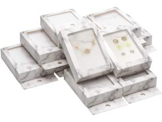 12 PACK KRAFT GIFT BOXES W/CLEAR WINDOW, Puerto Rico