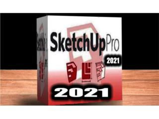 >>>>> SKETCHUP 2021 + VRAY 4.2 FULL <<<<<, Puerto Rico