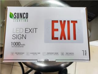 LED EXIT SIGN (SUNCO) , Puerto Rico