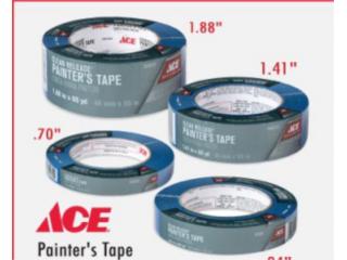 Painters Tape - ACE, Puerto Rico
