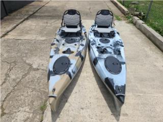 Orza Kayak 12.1 pies de pedales, Puerto Rico