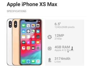 IPhone xs max 64GB Desbloqueado $500, Puerto Rico