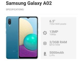 Samsung Galaxy A02 64GB Desbloqueado New , Puerto Rico