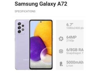 Samsung Galaxy A72 128GB Desbloqueado , Puerto Rico