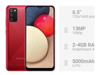 Samsung Galaxy A02s 64GB Desbloqueado new ?, Puerto Rico