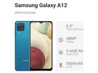 Samsung Galaxy A12 64GB Desbloqueado New , Puerto Rico