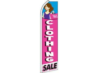 BANNER CLOTHING SALE 2.5 x 11.5., Puerto Rico