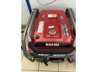 Generador black max 5500 $450 aprovecha!, Puerto Rico