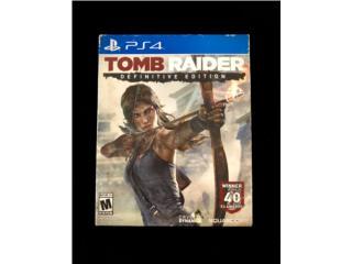 Juego PS4 ?? Tomb Raider - Definitive Edition, Puerto Rico