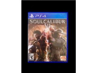 Juego PS4 Soulcalibur VI , Puerto Rico