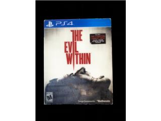 Juego PS4 ?? The Evil Within 1 , Puerto Rico
