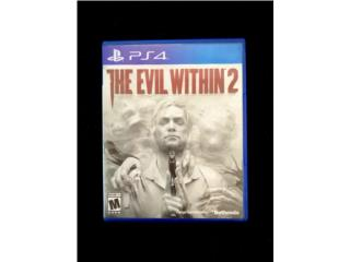 Juego PS4 The Evil Within 2 ??, Puerto Rico