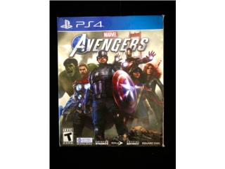 Juego Avengers PS4 , Puerto Rico