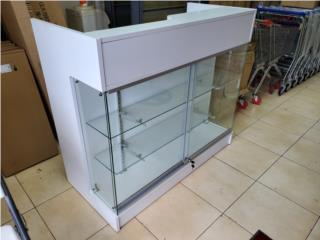 ONE SIDE LEDGE TOP COUNTER WITH SHOWCASE, Puerto Rico